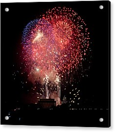 America's Celebration Acrylic Print by David Hahn