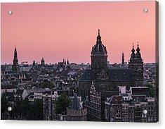 Amsterdam 02 Acrylic Print by Tom Uhlenberg
