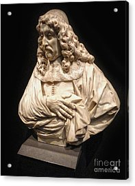 Amsterdam Rijksmuseum Classic Bust - 01 Acrylic Print by Gregory Dyer