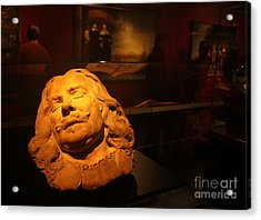 Amsterdam Rijksmuseum Statue Acrylic Print by Gregory Dyer