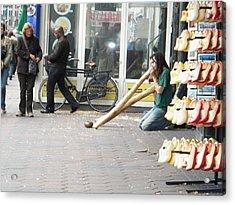 Amsterdam Street View Acrylic Print by Manuela Constantin