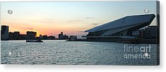 Amsterdam's Film Museum Acrylic Print by Gregory Dyer