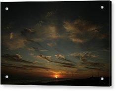 An Atlantic Sunset Acrylic Print by Christopher Kirby