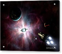 An Enormous Stellar Power Acrylic Print by Brian Christensen
