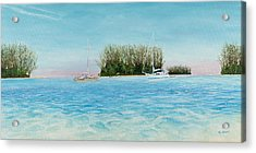 Anchorage At Crystal Bay Acrylic Print by Kevin Brant