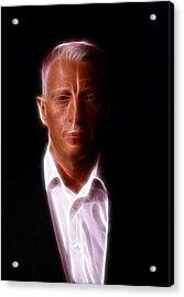 Anderson Cooper - Cnn - Anchor - News Acrylic Print by Lee Dos Santos