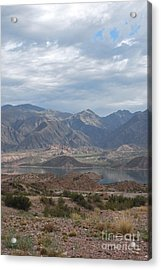Andes Acrylic Print by Jen Bodendorfer