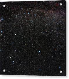 Andromeda Constellation Acrylic Print by Eckhard Slawik