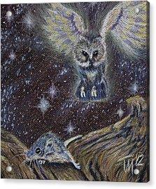 Angel Of Death Acrylic Print by Thomas Maynard