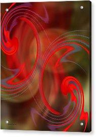 Angel's Joy Acrylic Print by J C Edwards