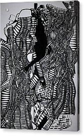 Angels Kiss Acrylic Print by Gloria Ssali