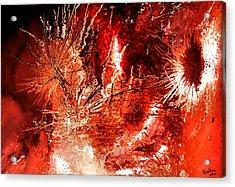 Anger Acrylic Print by Kristin Elmquist