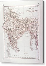 Anglo-indian Empire Acrylic Print by Fototeca Storica Nazionale
