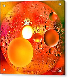 Another World Acrylic Print by Olivier Le Queinec