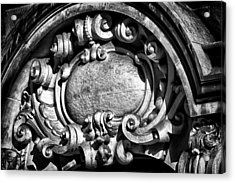 Ansonia Building Detail 13 Acrylic Print by Val Black Russian Tourchin