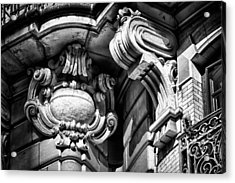 Ansonia Building Detail 39 Acrylic Print by Val Black Russian Tourchin