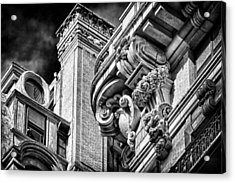 Ansonia Building Detail 41 Acrylic Print by Val Black Russian Tourchin
