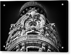 Ansonia Building Detail 48 Acrylic Print by Val Black Russian Tourchin