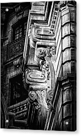 Ansonia Building Detail 49 Acrylic Print by Val Black Russian Tourchin