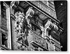 Ansonia Building Detail 6 Acrylic Print by Val Black Russian Tourchin