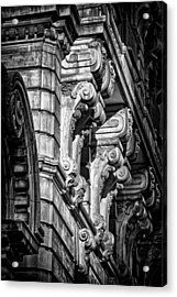 Ansonia Building Detail 7 Acrylic Print by Val Black Russian Tourchin