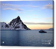 Antarctica Acrylic Print by Karen Kean