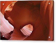 Antelope Canyon - A Rare Beauty Acrylic Print by Christine Till