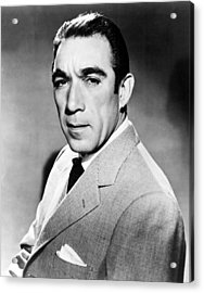 Anthony Quinn, United Artists Publicity Acrylic Print by Everett