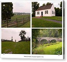 Antietam Maryland - September 17 - 1862 Acrylic Print by David Bearden