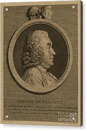 Antoine Deparcieux Acrylic Print by Granger