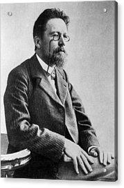 Anton Chekhov, 1901 Acrylic Print by Everett