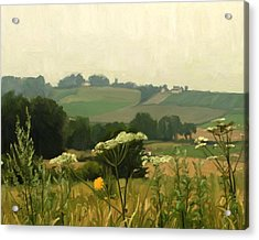 Apostelhoeve In The Jeker Valley Acrylic Print by Nop Briex