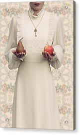 Apple And Pear Acrylic Print by Joana Kruse
