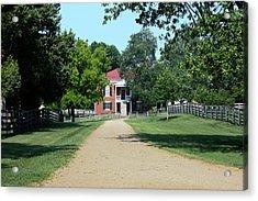 Appomattox County Court House 2 Acrylic Print by Teresa Mucha