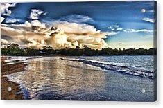 Approaching Storm Clouds Acrylic Print by Douglas Barnard
