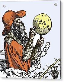Aratus Cilis, Astronomer Acrylic Print by Sheila Terry