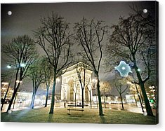 Arc De Triomphe Acrylic Print by TC Lin