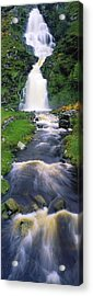 Ardara, Co Donegal, Ireland Waterfall Acrylic Print by The Irish Image Collection