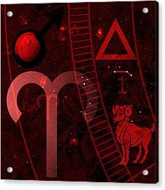 Aries Acrylic Print by JP Rhea