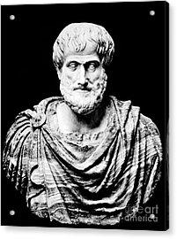 Aristotle, Ancient Greek Philosopher Acrylic Print by Omikron