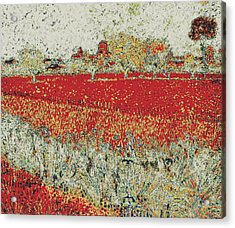Arles - Modified Van Gogh Acrylic Print by Modified Image