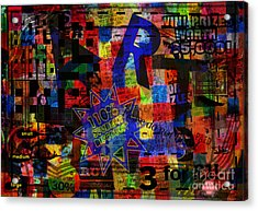 Art 5 Acrylic Print by Andy  Mercer