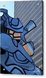 Art And Architecture Acrylic Print by Laurel Thomson