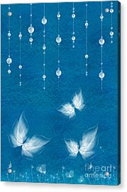 Art En Blanc - S11dt01 Acrylic Print by Variance Collections