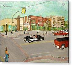 Arts Of Lapeer Acrylic Print by Sharon Lee Samyn