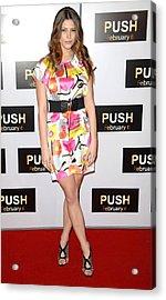 Ashley Greene At Arrivals For Push Acrylic Print by Everett
