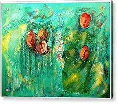 Asmaa Acrylic Print by Alia Al Wahab