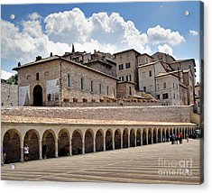 Assisi Italy Entrance Acrylic Print by Gregory Dyer