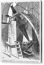 Astronomer, 1869 Acrylic Print by Granger