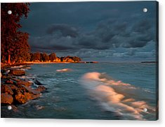At Sun's First Break Acrylic Print by At Lands End Photography